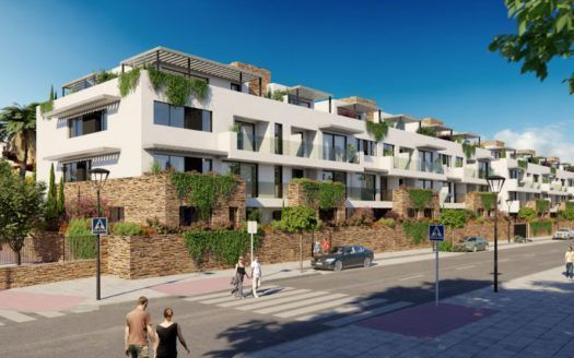 ARFA1161 - New exclusive apartments with golf views for sale in La Cala de Mijas
