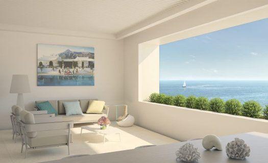 ARFA1194 - First line beach apartments in Estepona Centre for sale
