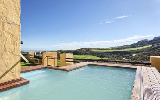 ARFA1223-205 - Spectacular duplex-penthouse for sale in Calanova in La Cala de Mijas