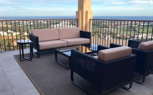 ARFA1234 - Sea view Apartments for sale in La Alqueria in Benahavis