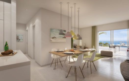 ARFA1266 - Modern projected apartments and penthouses with sea views in Mijas Costa