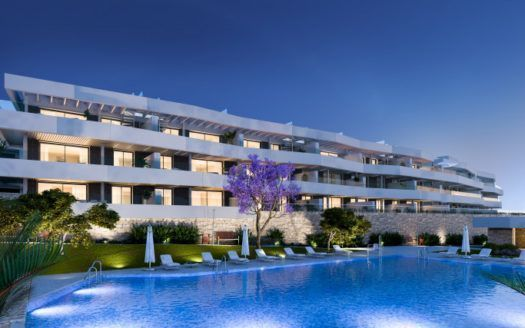 ARFA1278 - Modern apartments with sea views for sale in Valle Romano in Estepona