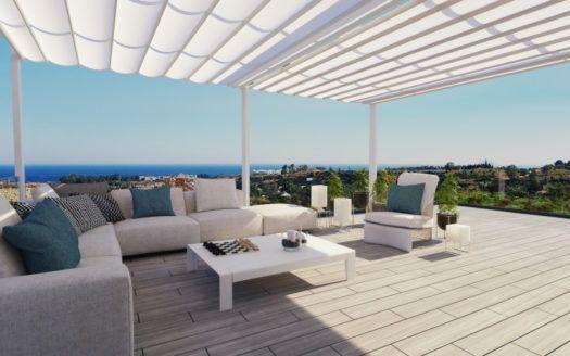 ARFA1308 - Modern apartments and terraced houses for sale in Cancelada near Marbella