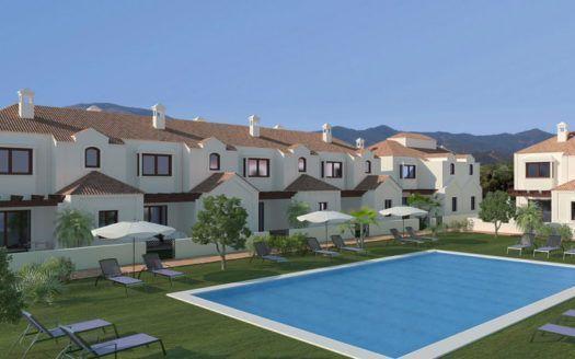 ARFTH098 - Project for townhouses for sale in La Noria in La Cala de Mijas