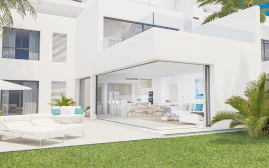 ARFTH124 - 12 modern new town houses for sale in Finca Cortesin in Casares