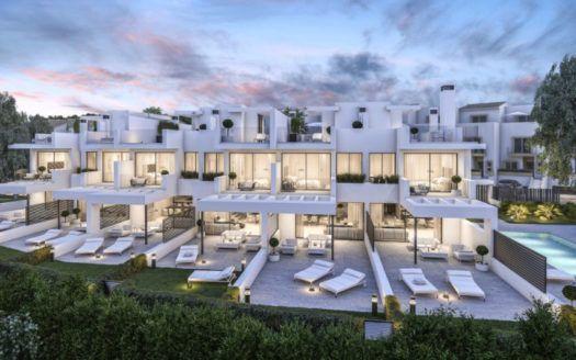 ARFTH141 - 6 unique houses for sale beachside of Estepona West