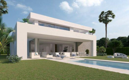 ARFV1862 - Project for 33 modern villa in the La Cala Golf Resort in La Cala