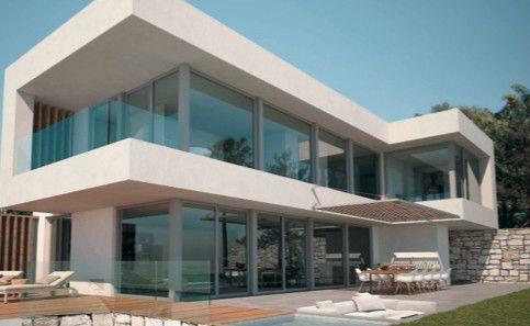 ARFV2018 - Project for modern villa for sale in El Rosario in Marbella