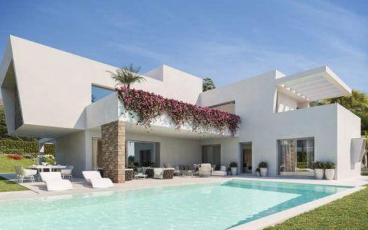ARFV2021 - 3 New build villas / project for sale in Estepona East