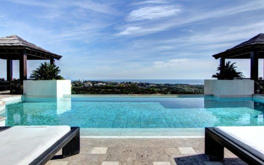 ARFV2036 - Impressive villa with panoramic views in Los Flamingos in Benahavis