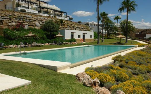 ARFA1343 - Fully furnished modern garden apartment for sale in Los Flamingos in Benahavis