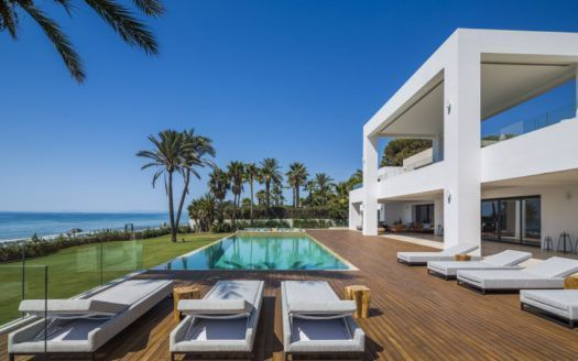 ARFV1867 - Exclusive modern beachfront property for sale on the New Golden Mile in Estepona