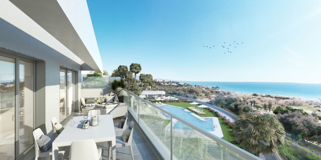Modern apartments close to the beach for sale in Sabinillas
