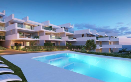 Amazing sea view apartments for sale in Manilva