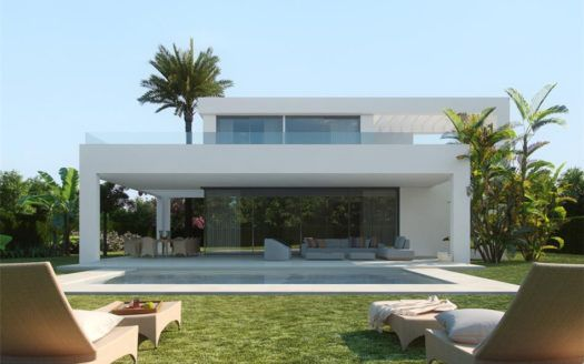 ARFV1633 - Ultramodern villas for sale in Rio Real in Marbella