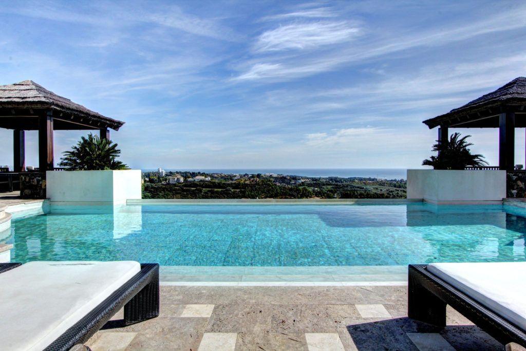 ARFV2036 - Impressive villa with panoramic views in Los Flamingos in Benahavis