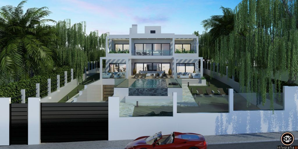 ARFV1209 - Modern Luxury villa in beach location for sale in Elviria in Marbella