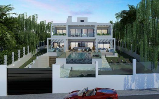 ARFV1209 - Modern Luxury villa in beach location for sale in Elviria in Marbella