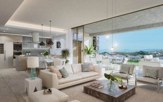 ARFA1199 - Modern apartments in unique design for sale in La Quinta near Marbella