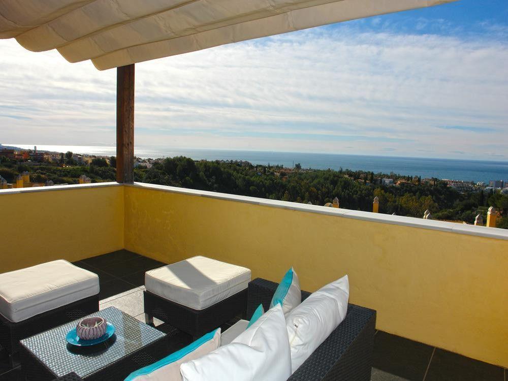 ARFA1094 - Designer Penthouse for sale on the Goldenene Mile in Sierra Blanca in Marbella