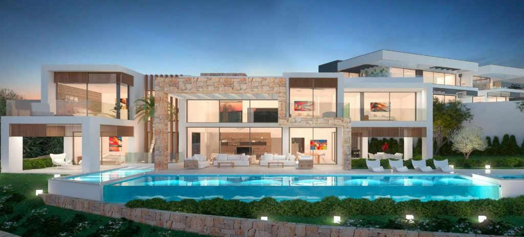 ARFV1982 - Contemporary villa for sale in La Cerquilla inNueva Andalcia