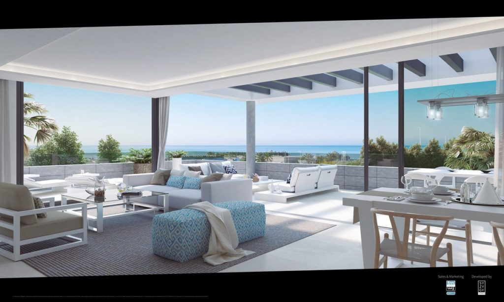 ARFA1122 - New apartment development to be built in Cancelada between Puerto Banus and Estepona