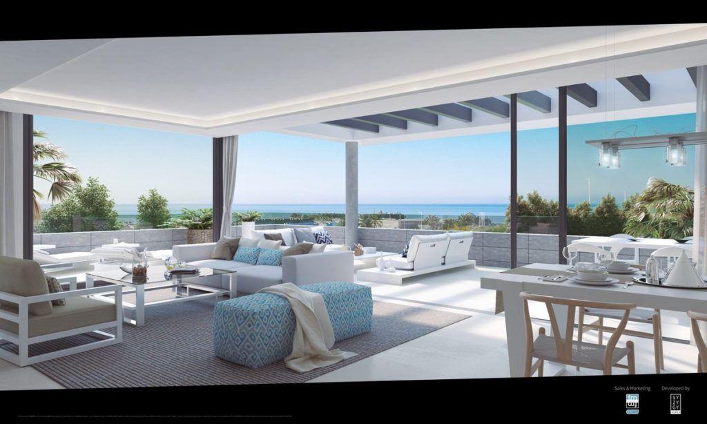 ARFA1122 - New apartment development  in Cancelada between Puerto Banus and Estepona