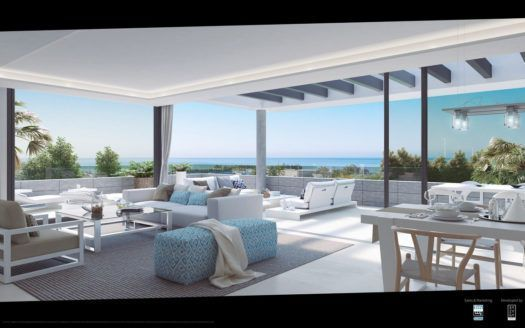 ARFA1122 - New apartment development  in Cancelada between Puerto Banus and Estepona