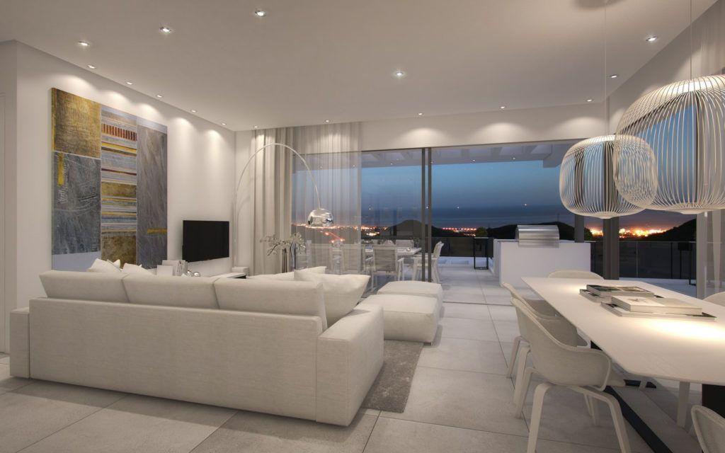 ARFA1118 - Modern sea view apartments for sale above Marbella Centre