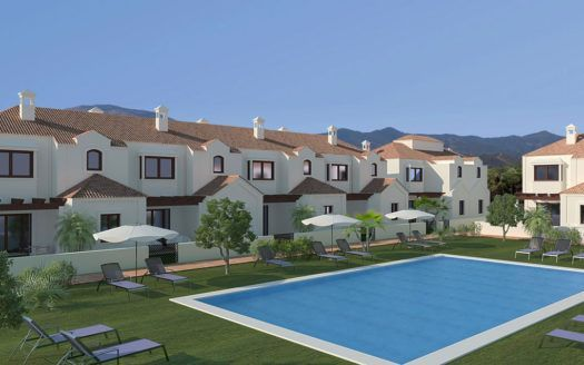 ARFTH098 - Project for townhouses for sale in La Noria in La Cala de Mijas