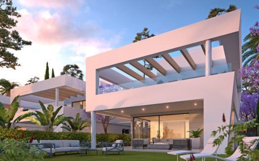 ARFV1854 - 10 modern Villas for sale in San Pedro de Alcantara by Marbella