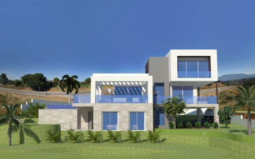 ARFV1855 - 10 new build modern villas at La Cala Golf for sale