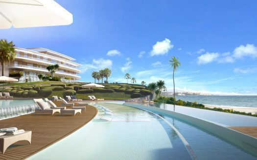 ARFA1176 - Front line beach Apartments and Penthouses for sale in Estepona