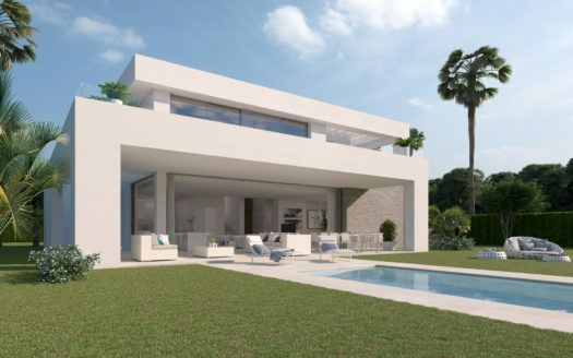 ARFV1862 - Project for 27 modern villa in the La Cala Golf Resort in La Cala