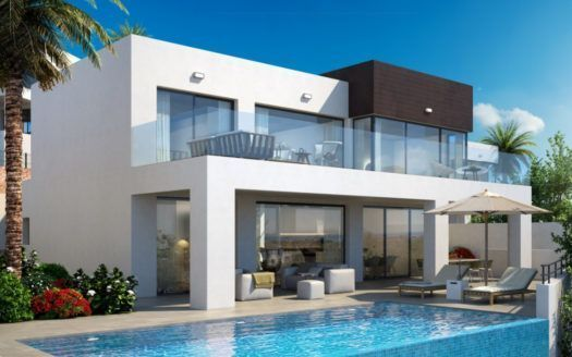 ARFV1865 - Project for 5 new villas for sale in La Cala de Mijas