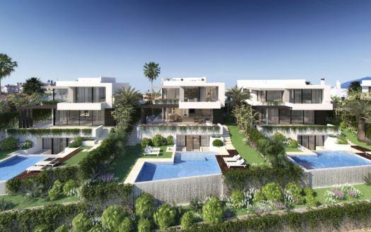 ARFV1875 - Contemporary Villas for sale on the New Golden Mile in Estepona