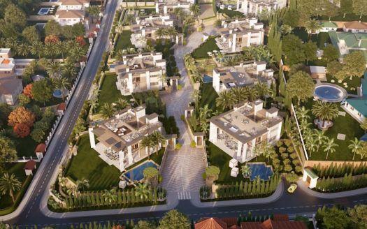 ARFV2102 - 8 luxury villas at Puerto Banus