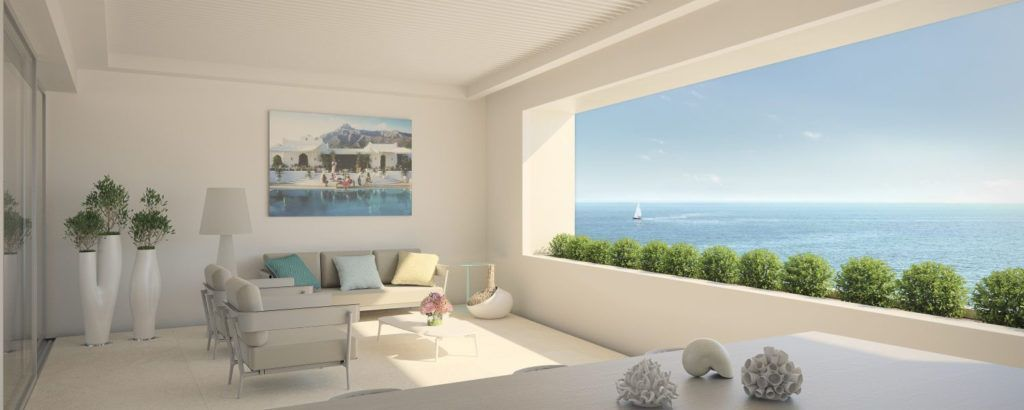 ARFA1194 - First line beach apartments in Estepona Centre for sale