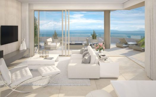 ARFA1242-1 - Project for modern apartments and penthouses for sale in Mijas Costa