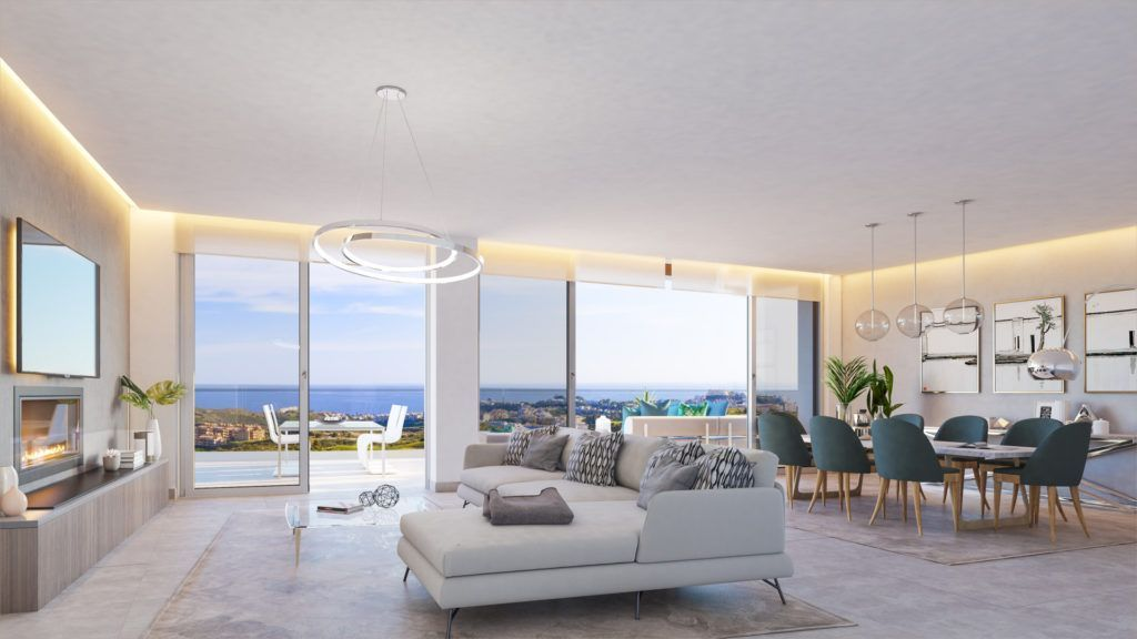 ARFA1307 - Project for apartments and penthouses for sale in Calanova Golf in Mijas