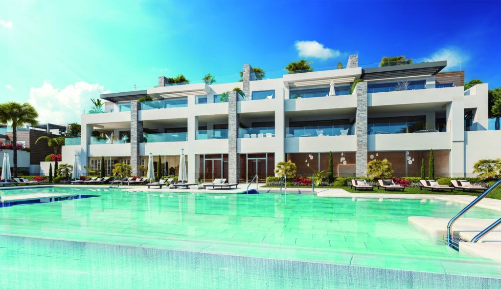 ARFA1324 - Projekt for new apartments and penthouses in Artola in Marbella