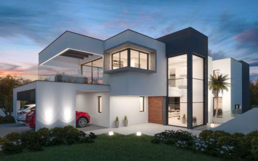 ARFV1994 - Modern newly built villa for sale in La Cerquilla in Nueva Andalucia