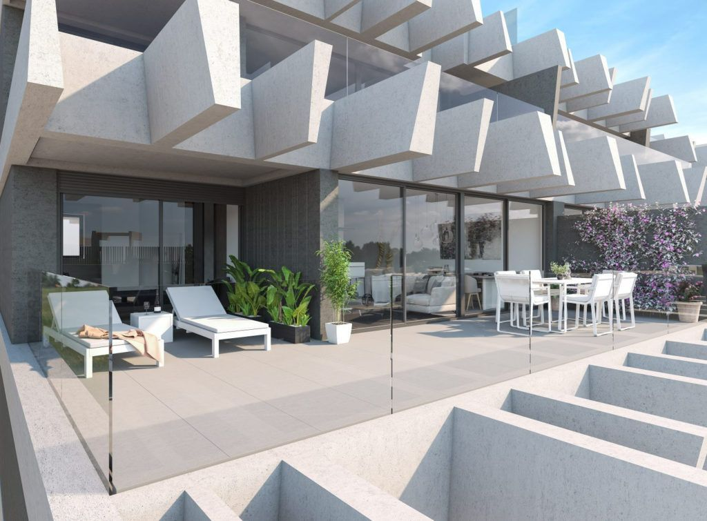 ARFA1210 - Modern apartments and penthouses are being built on the New Golden Mile in Estepona