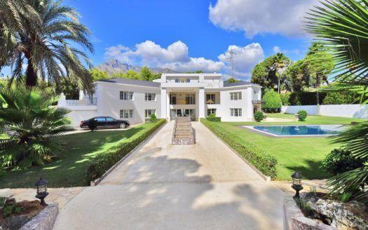 ARFV1913 - Spectacular Villa for sale on the Golden Mile in Marbella