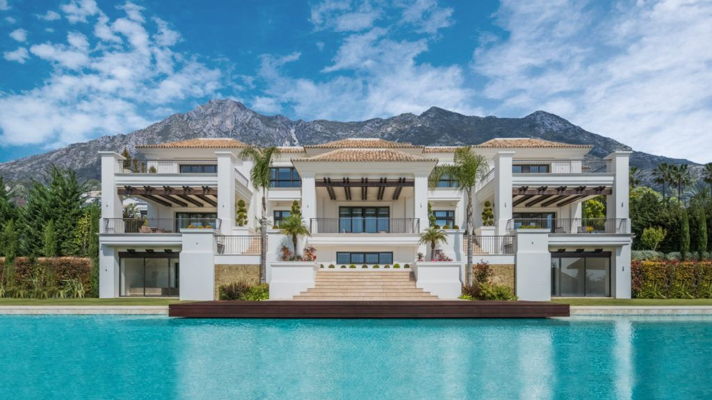 ARFV1804 - Majestic Villa for sale in Sierra Blanca with wonderful sea views