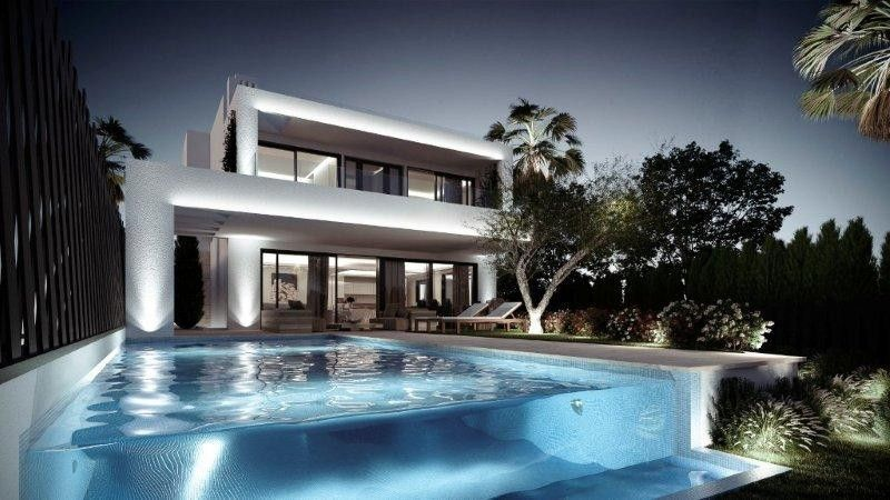 ARFV1894 - Elegant villas for sale with modern architecture on the Golden Mile of Marbella