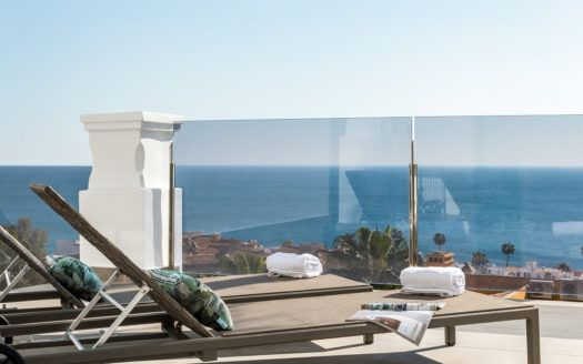 ARFA1317 - Modern apartments with stunning sea views for sale in Manilva