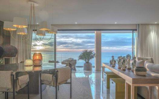 ARFA1322 - Furnished Apartment frontline beach in Estepona centre for sale