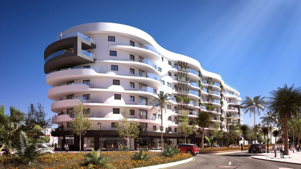 ARFA1232 - Modern city apartments in Estepona center for sale