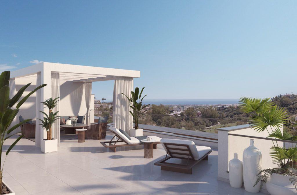 ARFA1195 - New apartment project for sale in La Quinta near Benahavis